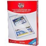 FUNDA PLASTIFICAR A4 BRILLO 216x303MM 125MY (CJ.100) FIXO