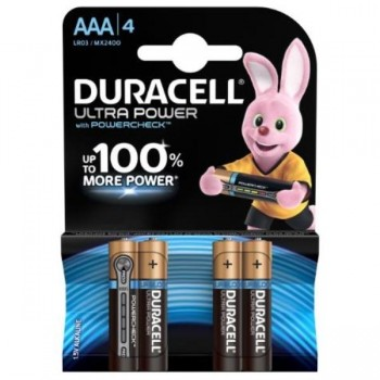 PILAS DURACELL ULTRA POWER AAA BLISTER 4 UDS