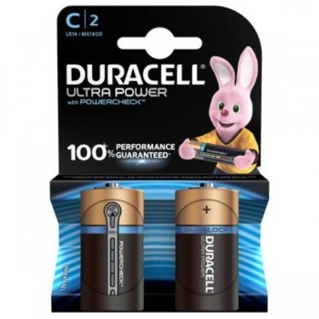 PILAS DURACELL ULTRA POWER C LR14 BLISTER 2 UDS