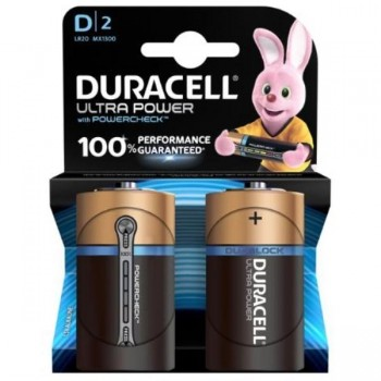 PILAS DURACELL ULTRA POWER D LR20 BLISTER 2 UDS