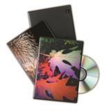 ESTUCHE DE DVD's STANDARD DOBLE NEGRO. PACK 10 UDS. FELLOWES