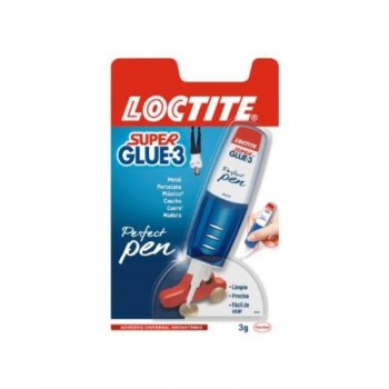 PEGAMENTO SUPER GLUE-3 PERFECT PEN 3GR LOCTITE