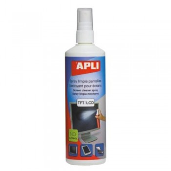 SPRAY LIMPIA PANTALLAS 250 ml. APLI
