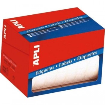 ETIQUETAS MANUAL BLANCAS ROLLO 12x18 5600U APLI