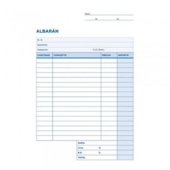 TALONARIO ALBARAN CUARTO ORIGINAL T115 LIDERPAPEL