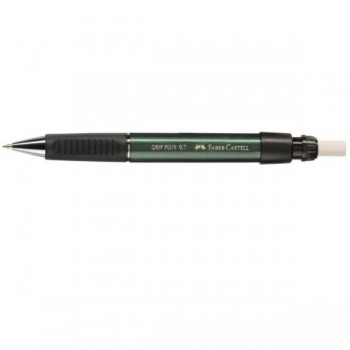 PORTAMINAS 0,7MM VERDE GRIP PLUS FABER CASTELL