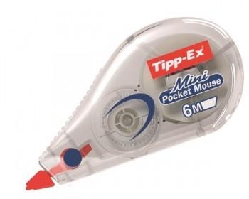 CORRECTOR 5MM X 6M MINI POCKET MOUSE TIPP-EX