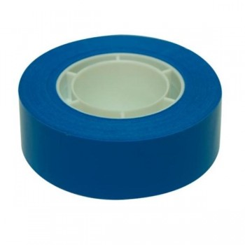 CINTA ADHESIVA COLOR AZUL 19MM X 33M  APLI