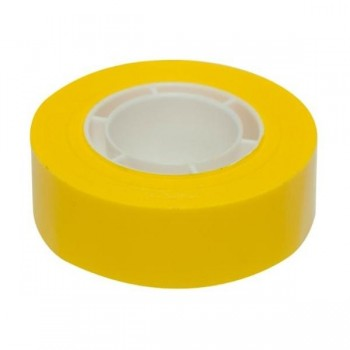 CINTA ADHESIVA COLOR AMARILLO 19MM X 33M  APLI
