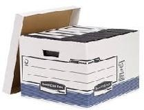 CONTENEDOR ARCHIVO PARA 4 CAJAS FOLIO CARTON RECICLADO BANKERS BOX FELLOWES