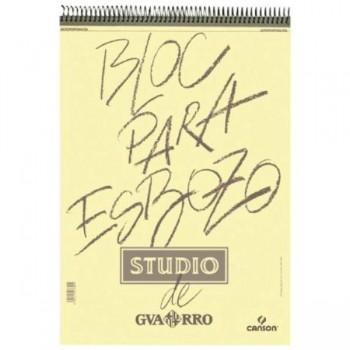 BLOC DIBUJO ESPIRAL 100H 90G A4 ESBOZO GUARRO