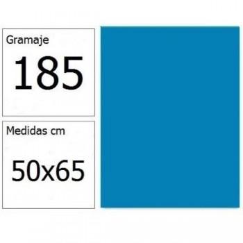 CARTULINA IRIS 50X65 185G AZ.MAR 25H.