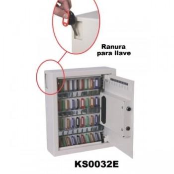 ARMARIO SEGURIDAD DE LLAVES PARA 48 LLAVES KS0032E 36X30X10CM 7,5KG PHOENIX
