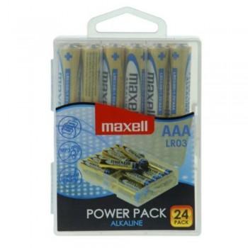PILA LR03 24PK POWER PACK MAXELL