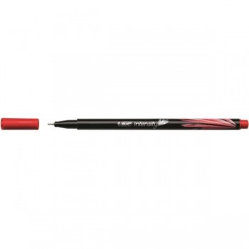 ROTULADOR BIC INTENSITY PUNTA FINA 0,4MM ROJO