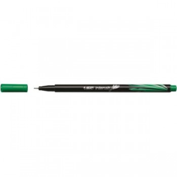 ROTULADOR BIC INTENSITY PUNTA FINA 0,4MM VERDE