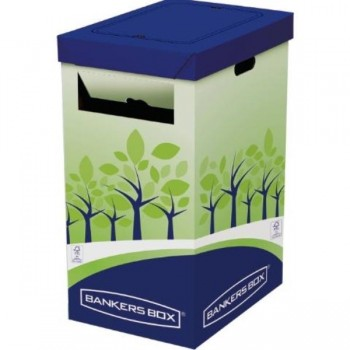 PAPELERA DE RECICLAJE BANKERS BOX 60X30X50MM FELLOWES