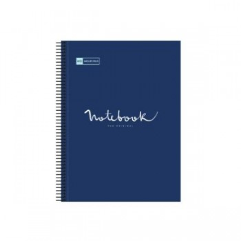 CUADERNO MICROP A4 120H 90G C/5 PP NOTEBOOK 5 EMOTIONS MARINO MIQUELRIUS