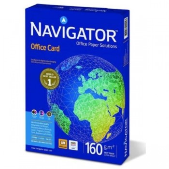 PAPEL A3 160G NAVIGATOR OFFICE CARD 250H