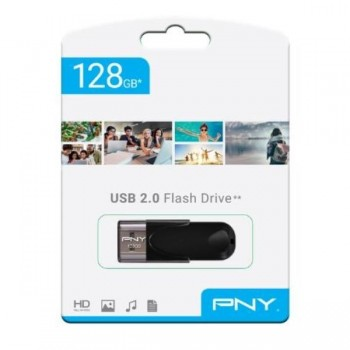 MEMORIA USB ATTACHE 4 2.0 128GB PNY