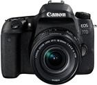 KIT CAMARA CANON EOS 77D + EFS 18-135/3.5-5.6 IS NANO USM
