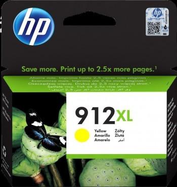 CARTUCHO HP OFFICEJET 912XL AMARILLO 3YL83AE