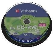 CDR VERBATIM 700MB 52X (TARRINA DE 10U)